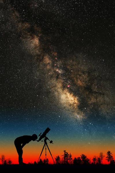Photograph - Sky Watcher by Larry Landolfi