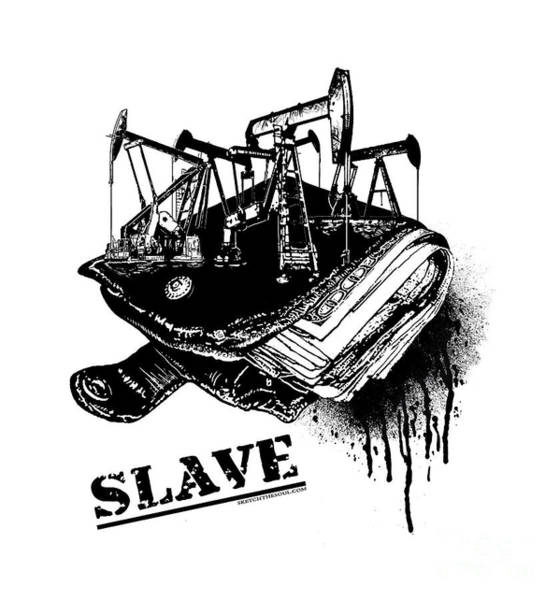 Mixed Media - Slave by Tony Koehl
