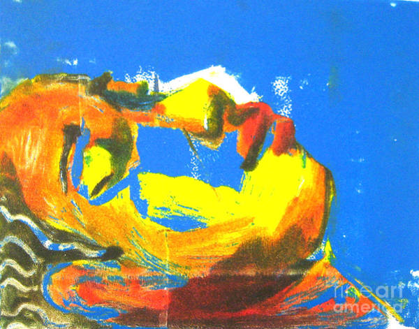 Art Print featuring the painting Sleep by Gabrielle Wilson-Sealy