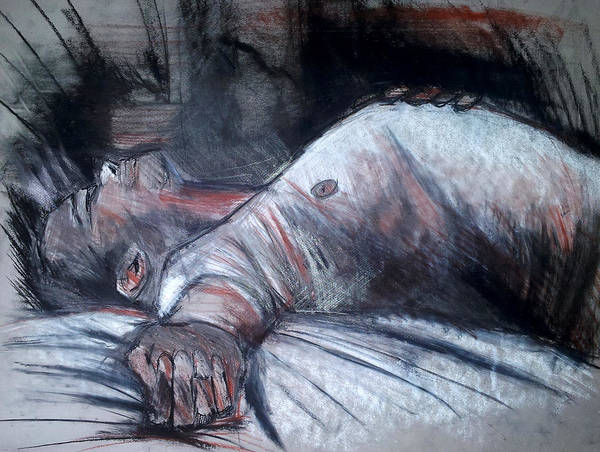 Drawing - Sleep by John Jr Gholson
