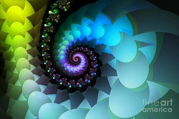 Digital Art - Sleeping Dragon by Jutta Maria Pusl