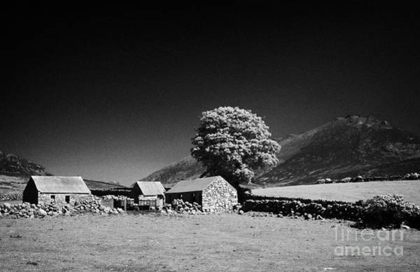 Boundary County Photograph - Slieve Binnian And Surrounding Countryside County Down Northern Ireland by Joe Fox