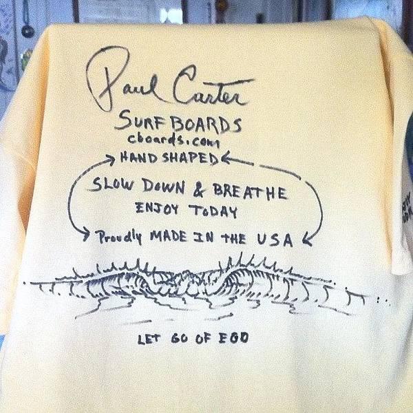 Handmade Wall Art - Photograph - Slow Down And Breathe Tee #teeshirt by Paul Carter