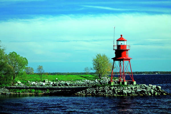 Photograph - Small Alpena Lighthouse by Scott Hovind