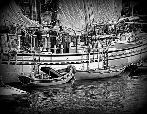 Photograph - Small Boats by Doug Mills