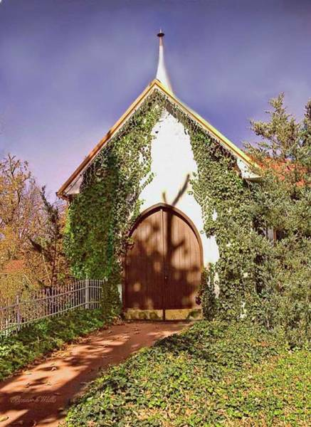 Photograph - Small Church Building by Bonnie Willis