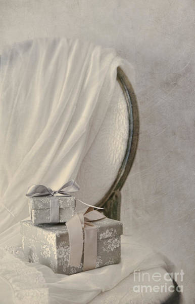 Photograph - Small Gifts With Lingerie On Chair by Sandra Cunningham
