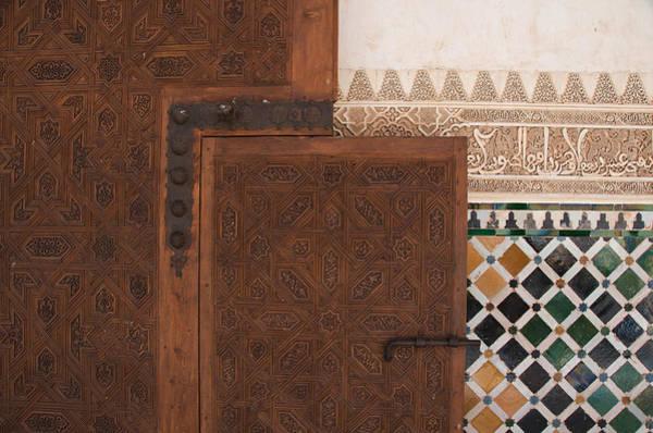 Photograph - Small Slide Bolt Alhambra by David Kleinsasser