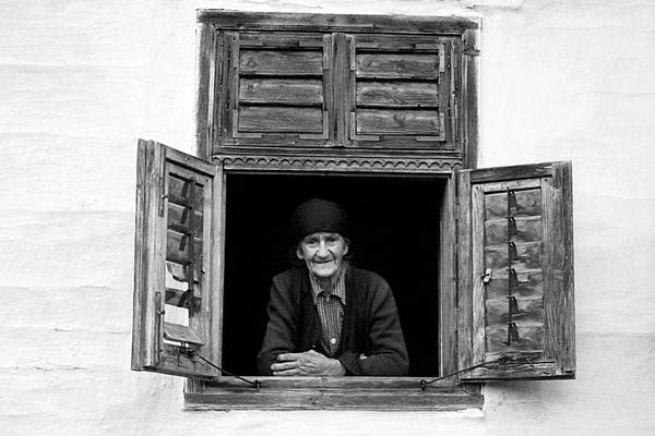 Photograph - Smiling At The Window by Emanuel Tanjala