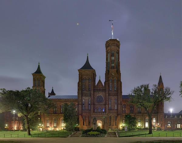 Photograph - Smithsonian Castle by Metro DC Photography
