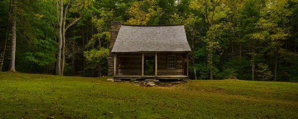 Photograph - Smokey Mountians Cabin by Ryan Heffron