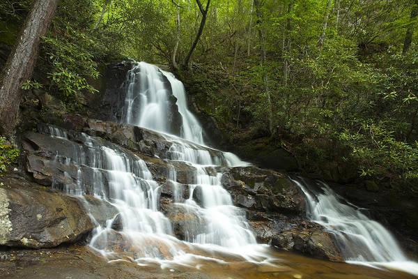 Laurel Wall Art - Photograph - Smoky Mountain Waterfall by Andrew Soundarajan