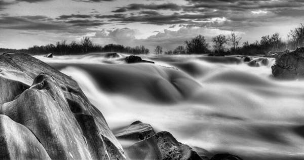 Chesapeake And Ohio Wall Art - Photograph - Smooth Black And White by JC Findley