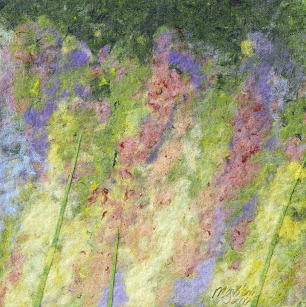 Snapdragons Painting - Snapdragons by Meg Black