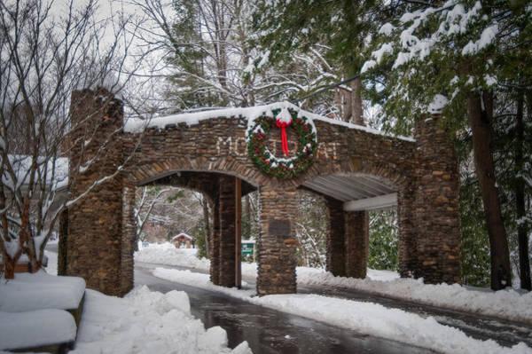 Photograph - Snow Gate  by Joye Ardyn Durham