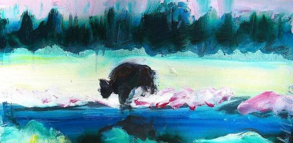 Painting - Snowy River Buffalo by Les Leffingwell