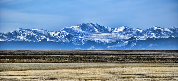 Photograph - Snowy Rockies by Heather Applegate