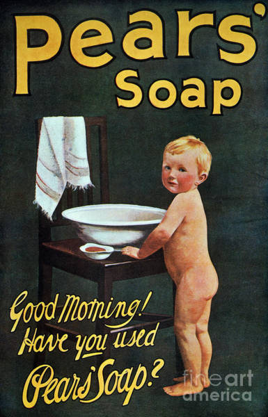 Wall Art - Photograph - Soap Ad, 1910 by Granger