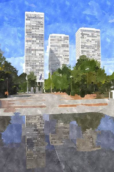 Hurricane Digital Art - Society Hill After Hurricane Irene by Andrew Dinh