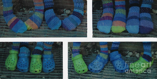 Photograph - Socks And Crocs by Bob Senesac