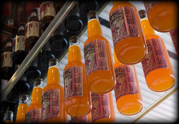 Soda Pop Wall Art - Photograph - Soda Bottles by Ricky Barnard