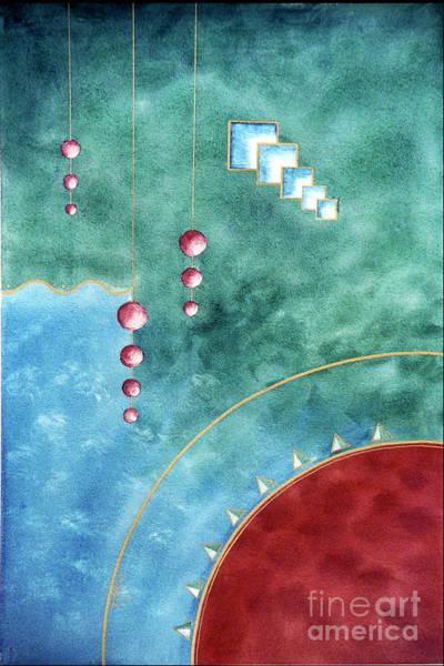 Solar Chandelier Art Print