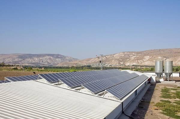 Kibbutz Photograph - Solar Panels by Photostock-israel