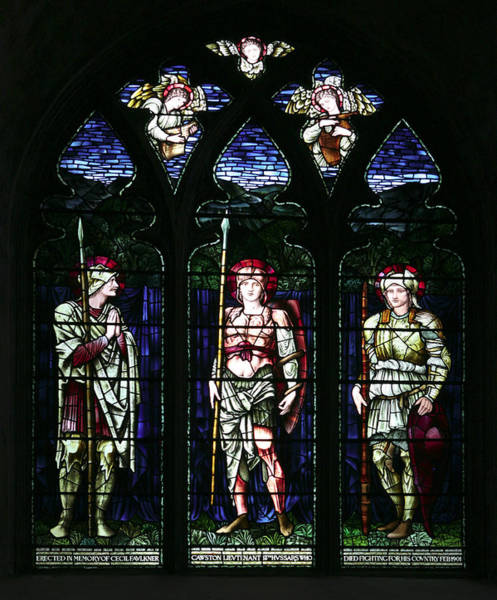 Photograph - Soldier's Memorial Window by Paul Cowan
