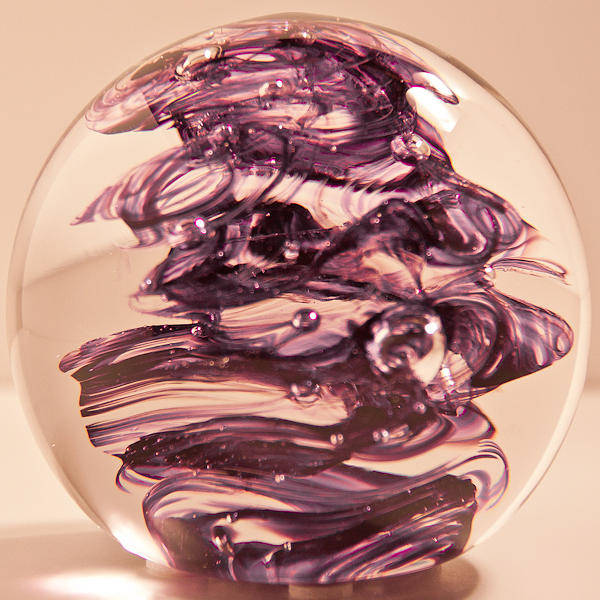 Glass Art - Solid Glass Sculpture R5 by David Patterson