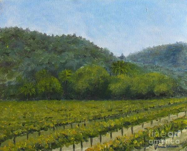 Painting - Solis Winery by Jeanie Watson