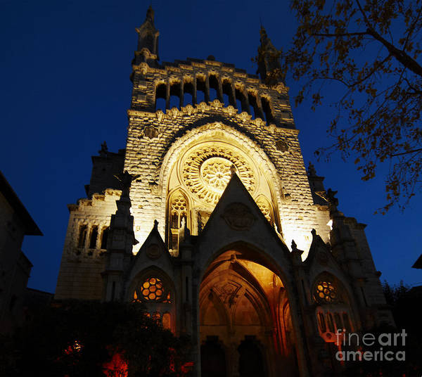 Photograph - Soller Cathedral by Agusti Pardo Rossello