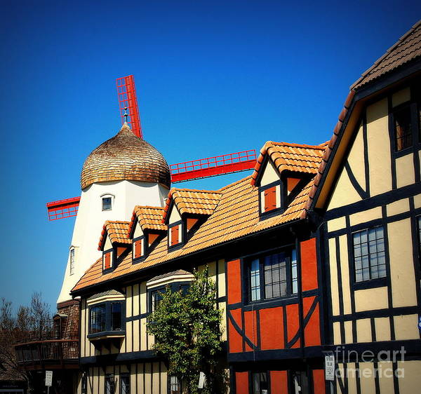 Photograph - Solvang California by Susanne Van Hulst