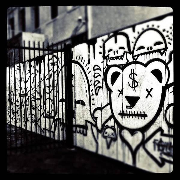 Gotham Wall Art - Photograph - Some Awesome #graffiti #art In by Krysten Sorensen