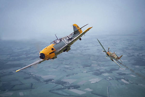 Battle Of Britain Digital Art - Some You Win........... by Pat Speirs
