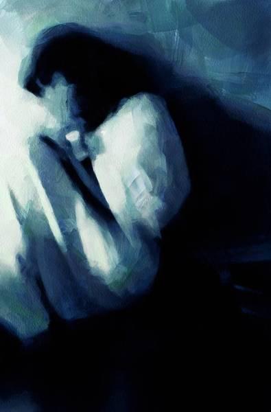 Crouching Digital Art - Sometimes We See No Way Out by Gun Legler