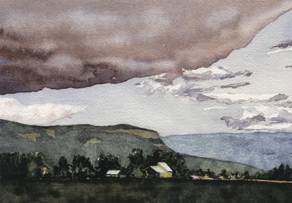 Painting - Somewhere In Bc by David Kleinsasser