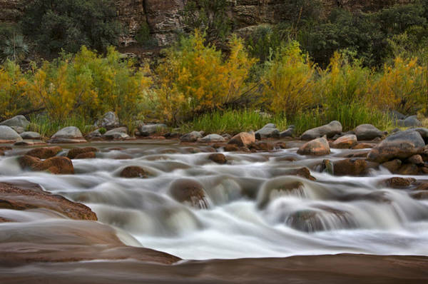 Soothing Photograph - Soothing Waters Of The Salt River 3 by Dave Dilli