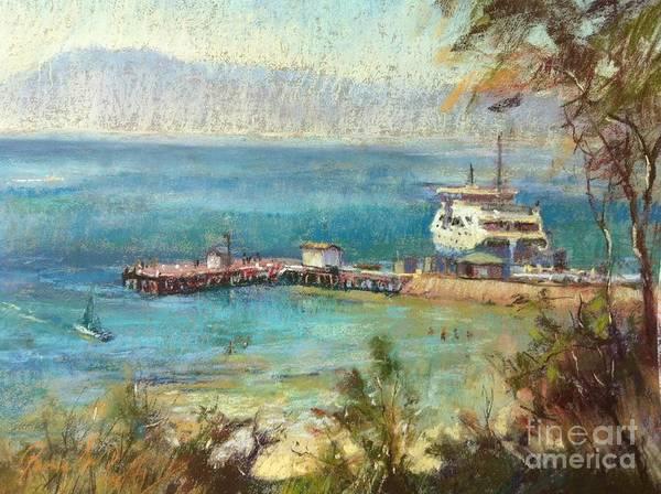 Arthurs Seat Painting - Sorrento Summer by Pamela Pretty