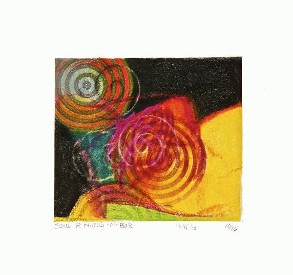 Painting - Soul R Thinginabob --start- 10-16 by Cliff Spohn