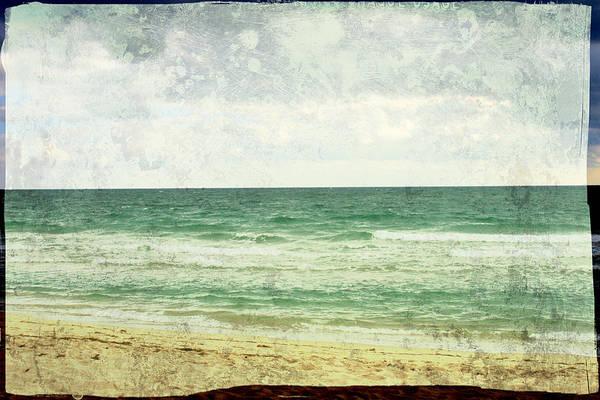 Wall Art - Photograph - South Beach  by Toni Hopper