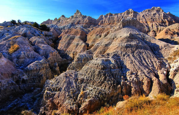Photograph - South Dakota Badlands by Paul Svensen