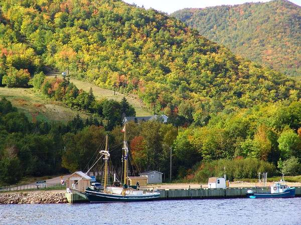 Cabot Trail Photograph - South Ingonish Harbour by George Cousins
