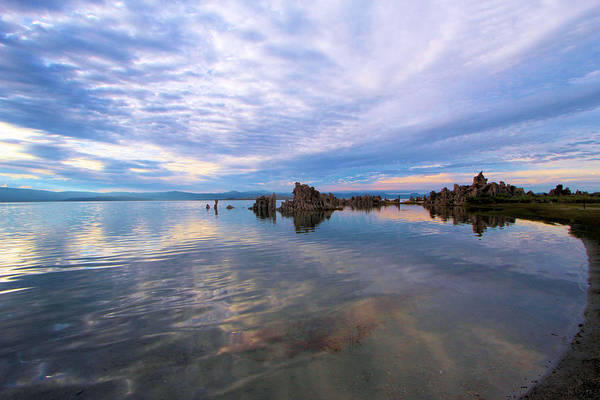 Photograph - South Mono Lake Tufas Sunset by Adam Jewell