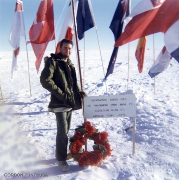 Photograph - South Pole - Antarctica Photos-1 by Gordon Punt