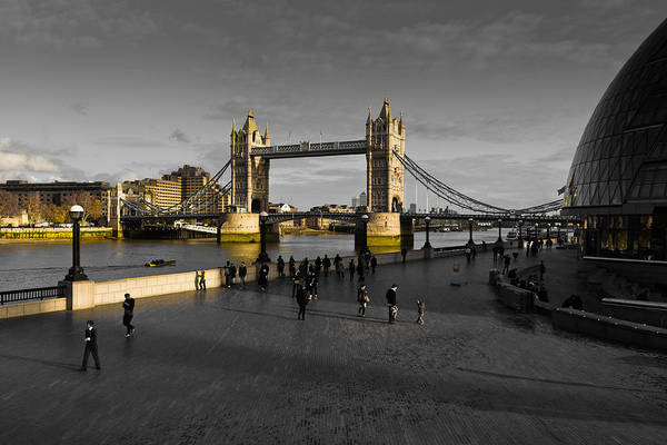 Southbank London  Art Print