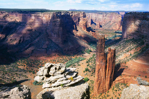 Spider Rock Photograph - Southwest Canyon  by George Oze