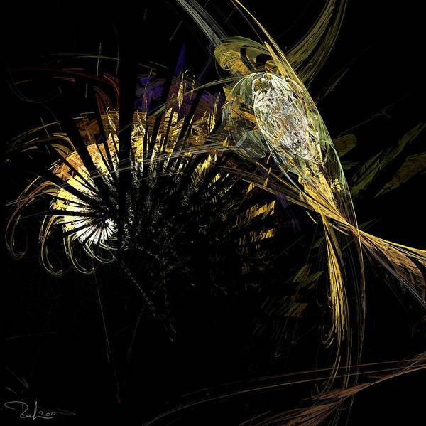 Digital Art - Space Knight by Raffaella Lunelli