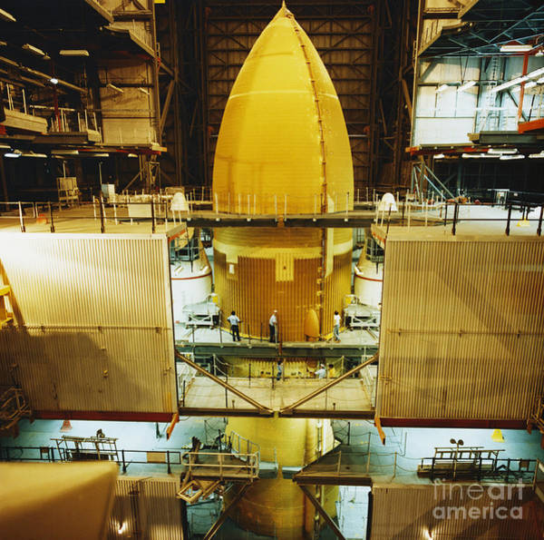 Photograph - Space Shuttle External Tank by Science Source