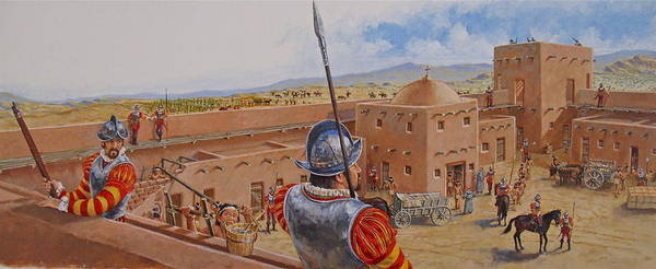 Painting - Spanish Fort by Cliff Spohn
