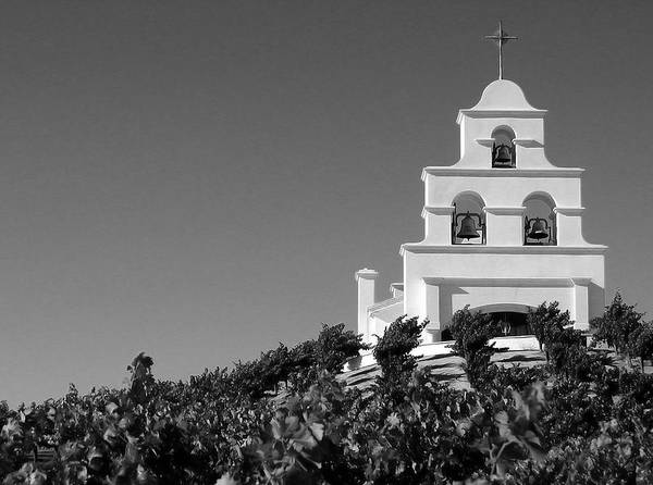 Photograph - Spanish Mission In The Vineyards II by Matt Hanson